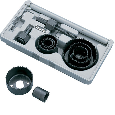 Image of Clarke CHT349 11 Piece Hole Saw Set