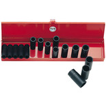 Clarke CIS12/17 17 Piece Deep Impact Socket Set Metric/AF