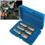Laser Glow Plug Socket Set 3pc