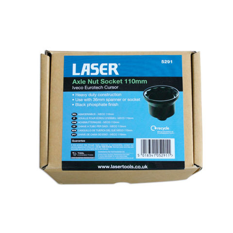 Laser 5291 105mm Iveco Axel Nut Socket - Machine Mart