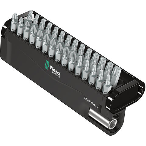 Wera Wera Bit-Check 30 Wood 2 30 Piece General Bit Set