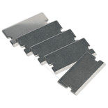 Sealey AK52507/2 Thick Razor Blade for AK52507, AK52504, VS500 Pack of 5