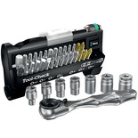 Wera Toolcheck1 Sb Bitcheck With Bit Ratchet/Sockets 38 Pieces