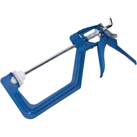 """Image of Machine Mart One Handed 150mm (6"""") Ratchet Clamp"""