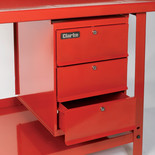 Clarke CWBD3B Steel 3 Drawer Unit