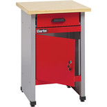 Clarke CWB57 570mm Workbench With Drawer And Lockable Cupboard
