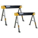 ToughBuilt C550 Sawhorse and Jobsite Table Twin Pack