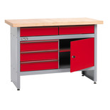 Clarke CWB1205P 5 Drawer Workbench