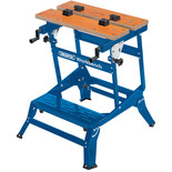 Draper 4 Way Fold Down Heavy Duty Workbench 650mm