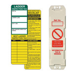 Ladder Tag Kit – 10 Holders, 10 Inserts, 1 pen