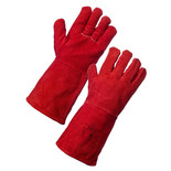 Rodo Red Welding Gauntlet Gloves