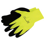 Foam Latex Coated Gloves - Medium or Large