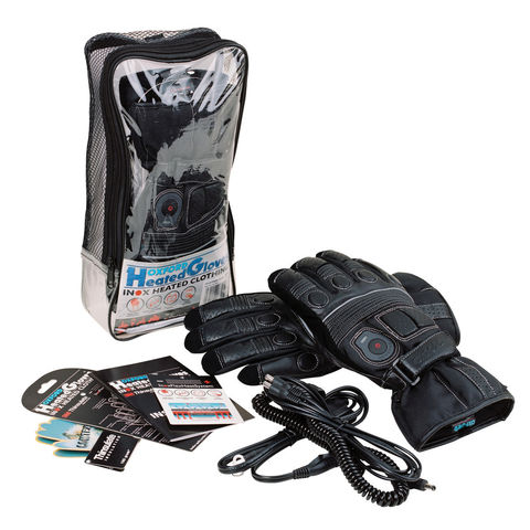 Machine Mart Xtra Oxford Heated Motorcycle Gloves L