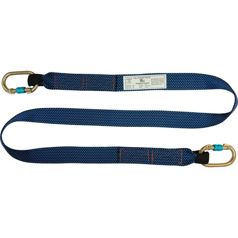 Image of Talurit UFS PROTECTS UT227 2m Webbing Lanyard with 2 Carabiners