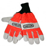 Oregon Chainsaw Gloves With Left Hand Protection Size 8 (Small)