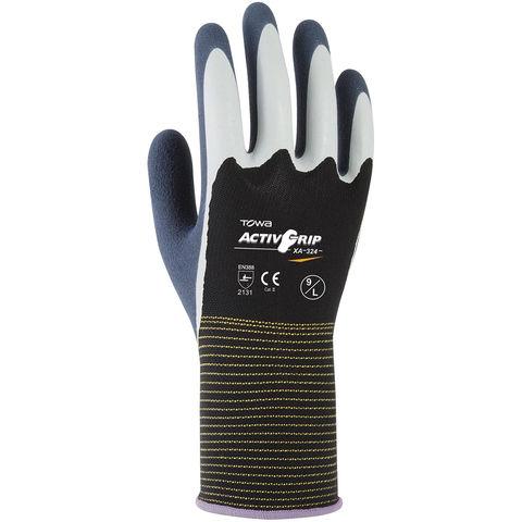 Rodo Towa Activgrip Xa 324 Latex Gloves Size 9