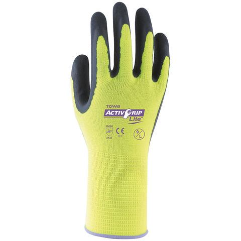 Rodo Activgrip Lite Latex Gloves Size 9