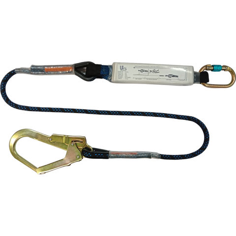 Image of Talurit UFS PROTECTS UT812 1.8m Energy Absorbing Lanyard with Kernmantal Rope