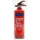Walker Fire 2Kg Fire Extinguisher - ABC Powder