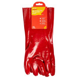 Amtech N2410 PVC Red Gauntlet Glove - XL