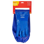 Amtech N2415 Blue PVC Extra Long Gauntlet Glove - XL