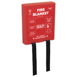 Sealey SFB11 Fire Blanket 1.1 x 1.1m