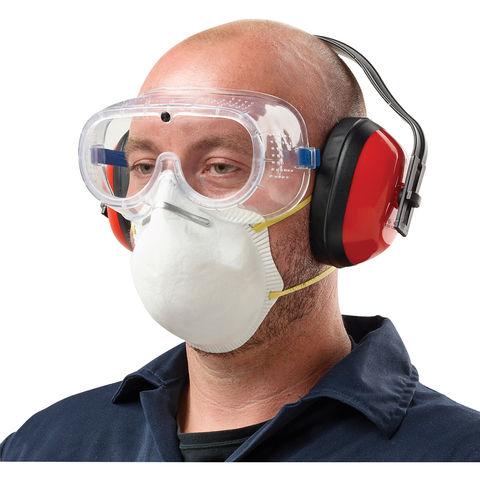 Clarke Clarke Spk1 Safety Pack Clear Goggles Ear Defenders Mask
