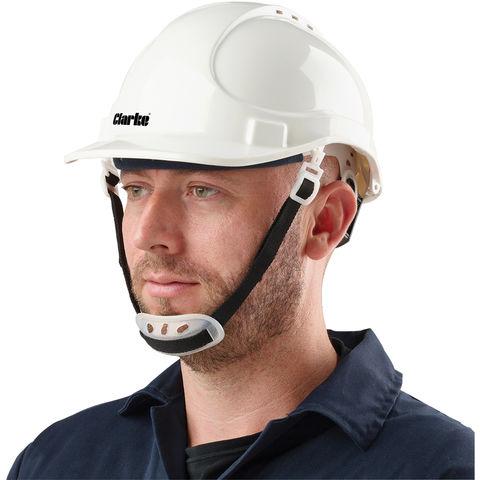 Clarke Clarke Shw1 Safety Helmet White