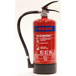 Walker Fire 6Kg ABC Powder Multi-Purpose Extinguisher