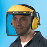 Oregon Combination Face Visor & Ear Defenders