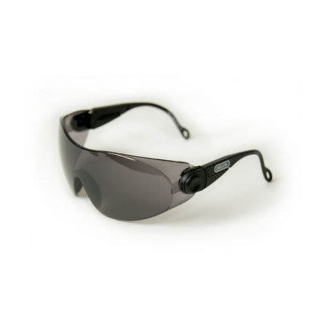 Oregon Oregon Black Lens Thick Frame Safety Glasses