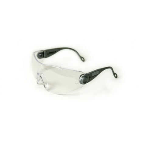 Machine Mart Xtra Oregon Clear Lens Thick Frame Safety Glasses