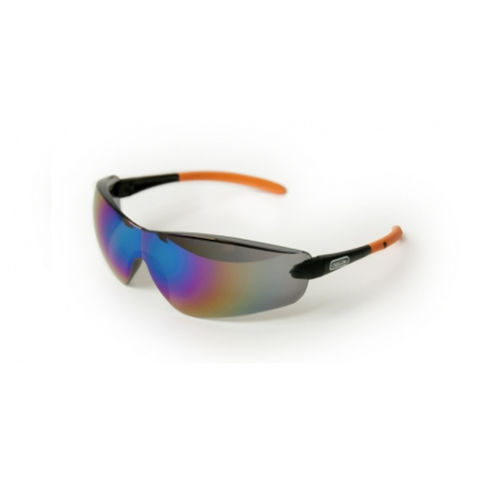 Machine Mart Xtra Oregon Mirrored Lens Safety Glasses