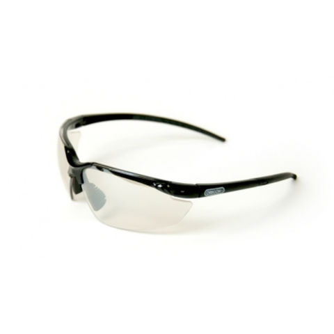 Machine Mart Xtra Oregon Clear Lens Safety Glasses With Black Frame