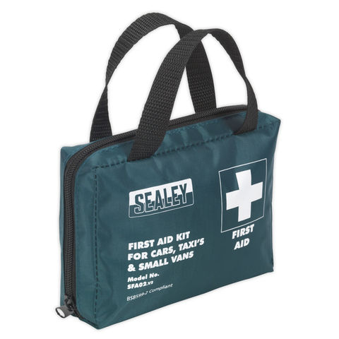Image of Sealey Sealey SFA02S First Aid Kit For Cars Taxis & Small Vans