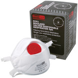 Moulded Valved Disposable Respirator- 5 Pack