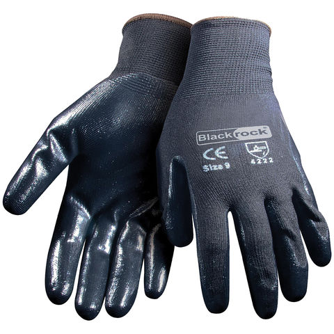 Rodo Blackrock Nitrile Super Grip Glove