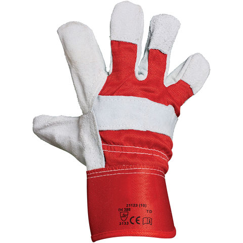 Image of Rodo Blackrock Canadian Split Leather Rigger Gloves