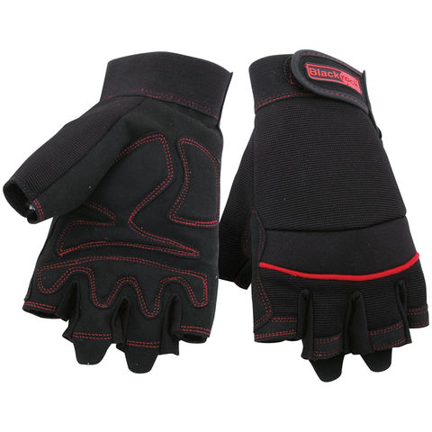 Rodo Rodo Fingerless Machine Gloves