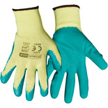 Rodo Latex Gripper Gloves Large