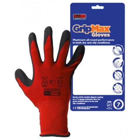 Image of Rodo Blackrock Advance Gripmax Nitrile Glove XL
