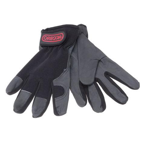 Machine Mart Xtra Oregon Stretch Leather Work Gloves Large
