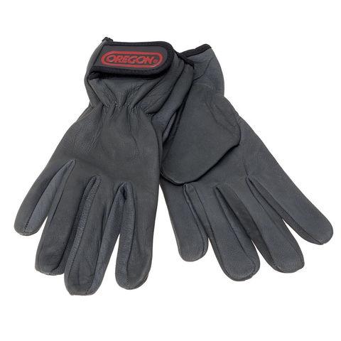 Machine Mart Xtra Oregon Stretch Leather Work Gloves Extra Large