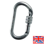 Lifting & Crane RGK-1 Screwgate Karabiner 20mm Gate Opening