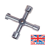 Monument Multi Purpose 4-Way Valve Key