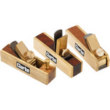 Clarke CHT838 3 Piece Miniature Brass Plane Set