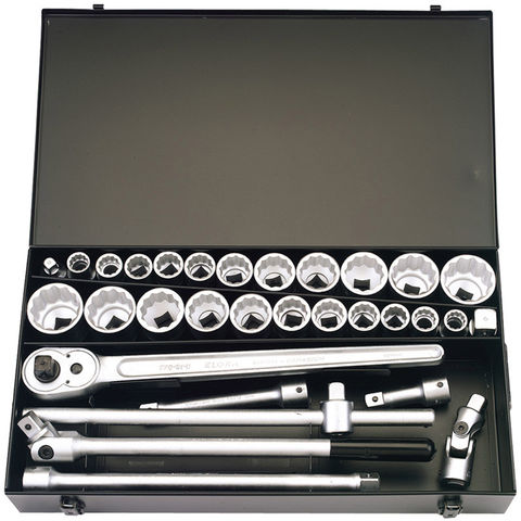 """Image of Elora Elora 770-S22 MAU 31 Piece 3/4"""" Sq. Dr. Metric and Imperial Socket Set"""