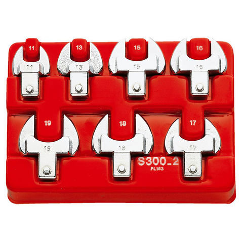 Image of Machine Mart Xtra Facom S.300-12 Metric Open End Spanner Set - 14x18mm Fitting