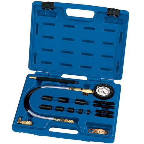 Image of Draper Draper DCT6CV Expert 13 Piece Commercial Vehicle Diesel Engine Compression Test Kit