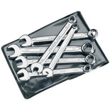 Elora 202 S6M 6 Piece Midget Metric Combination Spanner Set